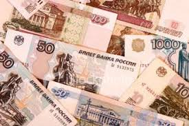 rubles money