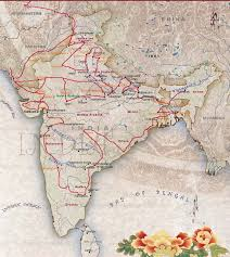 road map india