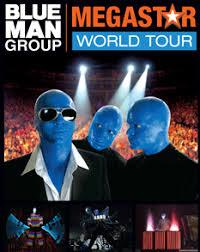 blue man group poster