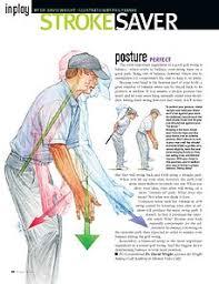 golf swing posture