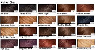 loreal hair color guide