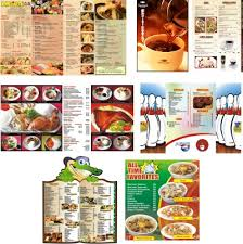 food menus designs