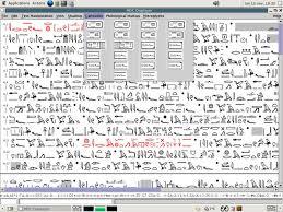 modern egyptian writing