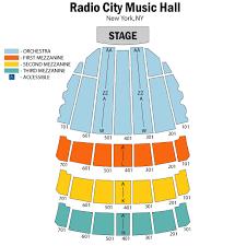 radio city seating