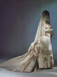 silk wedding veil