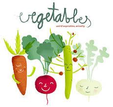 dibujos de vegetales