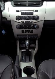 ford focus console