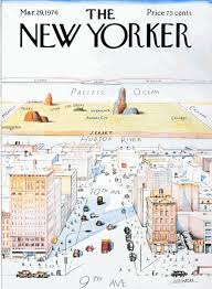 saul steinberg new yorker cover