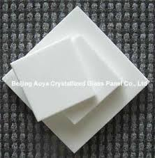 crystallized glass panel