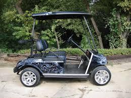 customized golf cars