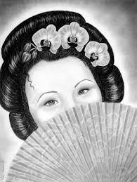 geisha girl hair