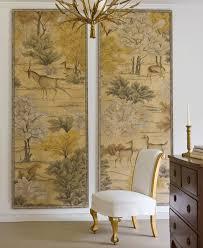 oriental silk screens