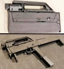 Liste des répliques - Partie II, les pistolets-mitrailleurs [Achevée] 450px-MagpulFMG-9