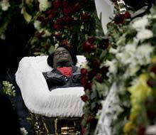 james brown in casket