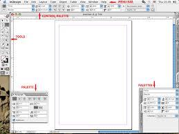 indesign work
