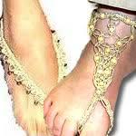 bottomless sandals