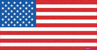 american flag drawing