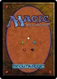 magic trading card