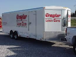 enclosed landscape trailers