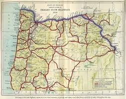 oregon road maps