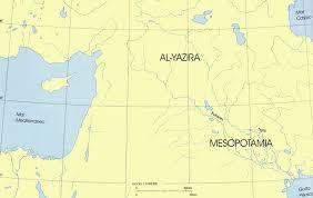 ubicacion de mesopotamia