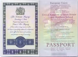 british passport cover