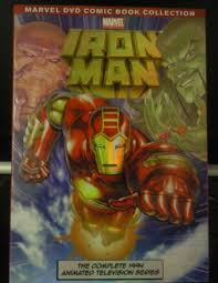 iron man cartoon dvd