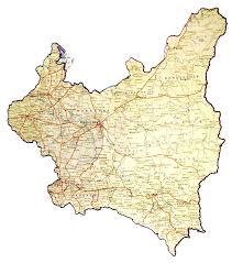 mapa polski 1939