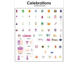 cricut cartridge celebrations