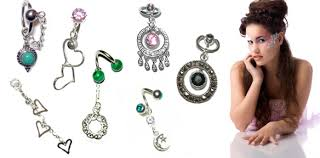 belly button jewellery
