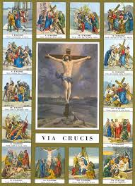 15 estaciones del via crucis