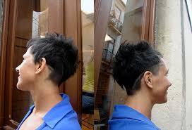 fun short haircut
