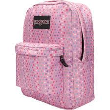 polka dot jansport backpacks