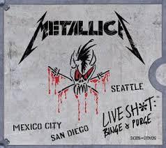 metallica binge and purge dvd