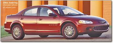 2001 chrysler sebring sedan