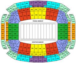 reliant stadium seating
