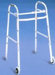 front wheel walker