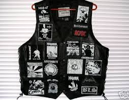 bls leather vest