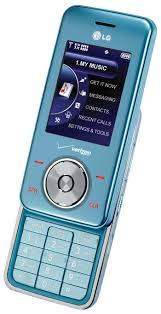 blue verizon cell phone