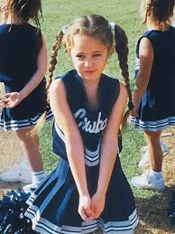 miley cyrus cheerleading