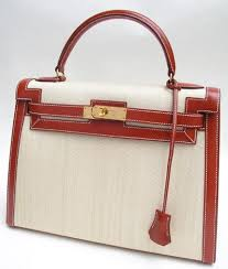 hermes canvas bag
