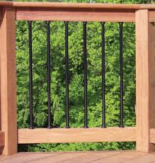 iron deck railings
