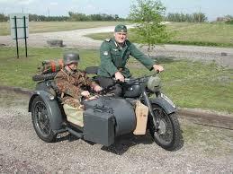 german ww2 motorcycle