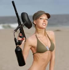 paintball gun equipment