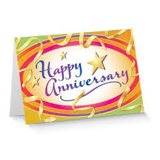 service anniversary cards