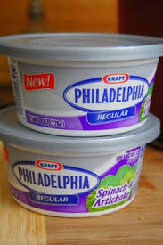 cream cheese container