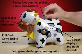 cow piggy banks