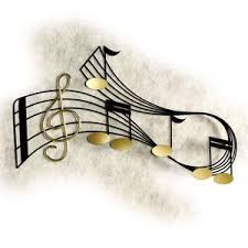 music notes wall decorations