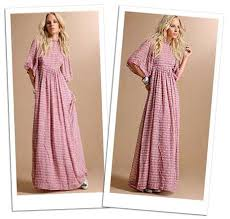 fashion maxi dress