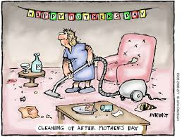 mothers cleaning